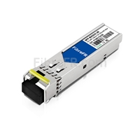 Image de Extreme Networks MGBIC-BX20-U-1550 Compatible Module SFP BiDi 1000BASE-BX 1550nm-TX/1310nm-RX 20km DOM