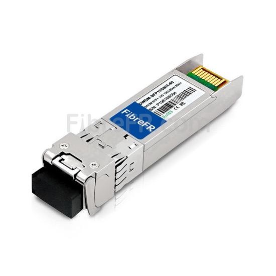 Image de Extreme Networks C18 DWDM-SFP10G-63.05 Compatible Module SFP+ 10G DWDM 100GHz 1563.05nm 80km DOM