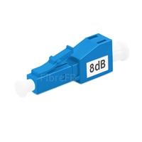 Image de Atténuateur à Fibre Optique Fixe Monomode LC/UPC, Mâle-Femelle, 8dB