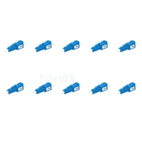 Image de Atténuateur à Fibre Optique Fixe Monomode LC/UPC, Mâle-Femelle, 5dB (10pcs/Paquet)