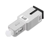 Image de Atténuateur à Fibre Optique Fixe Monomode SC/UPC, Mâle-Femelle, 6dB