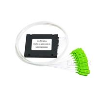 Image de Splitter PLC à Fibre Optique 1 x 16, Module ABS d'Épissure/Pigtail, 900μm, SC/APC, Monomode