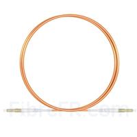 Image de 1m LC UPC vers LC UPC Simplex 2,0mm PVC (OFNR) OM1 Jarretière Optique Multimode