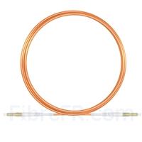 Image de 5m LC UPC vers LC UPC Simplex 2,0mm PVC (OFNR) OM1 Jarretière Optique Multimode