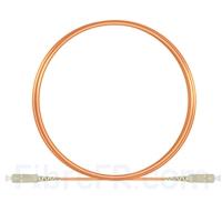 Image de 3m SC UPC vers SC UPC Simplex 2,0mm PVC (OFNR) OM1 Jarretière Optique Multimode