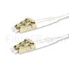 Image de 5m LC UPC vers LC UPC Duplex 2,0mm LSZH OM4 Jarretière Optique Multimode