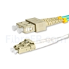 Image de 15m LC UPC vers SC UPC Duplex 2,0mm LSZH OM4 Jarretière Optique Multimode