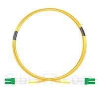 Image de 2m LC APC vers LC APC Duplex OS2 PVC (OFNR) 2,0mm Jarretière Optique Monomode