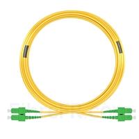 Image de 20m SC APC vers SC APC Duplex 3,0mm PVC (OFNR) 9/125 Jarretière Optique Monomode