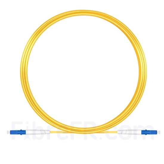 Image de 7m LC UPC vers LC UPC Simplex OS2 PVC (OFNR) 2,0mm Jarretière Optique Monomode