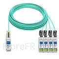 Image de 50m Arista Networks AOC-Q-4S-100G-50M Compatible Câble Optique Actif Breakout QSFP28 100G vers 4 x SFP28