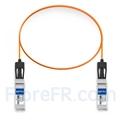 Image de 1m Brocade 10G-SFPP-AOC-0101 Compatible Câble Optique Actif SFP+ 10G