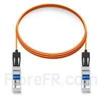 Image de 5m Dell Force10 CBL-10GSFP-AOC-5M Compatible Câble Optique Actif SFP+ 10G