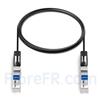 Image de 3m Dell Force10 CBL-10GSFP-DAC-3MA Compatible Câble à Attache Directe Twinax en Cuivre Actif 10G SFP+