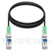Image de 6m Arista Networks CAB-Q-Q-6M Compatible Câble à Attache Directe en Cuivre Passif 40G QSFP+