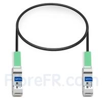 Image de 0,5m Dell (DE) Networking 332-1362 Compatible Câble à Attache Directe en Cuivre Passif 40G QSFP+