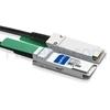 Image de 1m Dell (DE) Networking 470-AAVR Compatible Câble à Attache Directe en Cuivre Passif 40G QSFP+