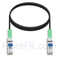 Image de 3m Générique Compatible Câble à Attache Directe en Cuivre Passif 40G QSFP+