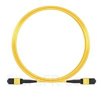 Image de 10m Senko MPO Femelle 12 Fibres OS2 9/125 Câble Trunk Monomode, Type B, Élite, LSZH, Jaune