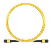 Image de 10m Senko MPO Femelle 12 Fibres OS2 9/125 Câble Trunk Monomode, Type A, Élite, LSZH, Jaune