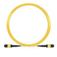 Image de 9m MTP Câble Trunk Mâle 12 Fibres OS2 9/125 Monomode, Type A, Élite, LSZH, Jaune
