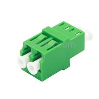 Image de Adaptateur à Fibre Optique/Manchon d'Accouplement LC/APC vers LC/APC Monomode Duplex avec Bride