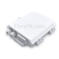 Image de Boîte de Distribution Extérieure de Splitter PLC Blockless à Fibre Optique 1 x 8 sans Pigtails ni Adaptateurs