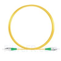 Image de 2M(7ft))1550nm FC APC Simplex Axe Lent PVC-3.0mm Monomode (OFNR) 3,0 mm Polarisation Maintenant le Câble de Raccordement à Fibre Optique