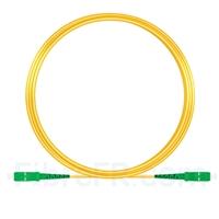 Image de 10M(33ft)1550nm SC APC Simplex Axe Lent PVC-3.0mm Monomode (OFNR) 3,0 mm Polarisation Maintenant le Câble de Raccordement à Fibre Optique