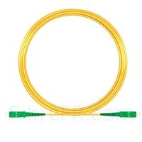 Image de 15M(49ft)1550nm SC APC Simplex Axe Lent PVC-3.0mm Monomode (OFNR) 3,0 mm Polarisation Maintenant le Câble de Raccordement à Fibre Optique
