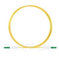 Image de 1M(3ft)1550nm LC APC Simplex Axe Lent PVC-3.0mm Monomode (OFNR) 3,0 mm Polarisation Maintenant le Câble de Raccordement à Fibre Optique