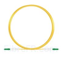 Image de 2M(7ft))1550nm LC APC Simplex Axe Lent PVC-3.0mm Monomode (OFNR) 3,0 mm Polarisation Maintenant le Câble de Raccordement à Fibre Optique