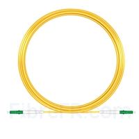Image de 20M(66ft)1550nm LC APC Simplex Axe Lent PVC-3.0mm Monomode (OFNR) 3,0 mm Polarisation Maintenant le Câble de Raccordement à Fibre Optique