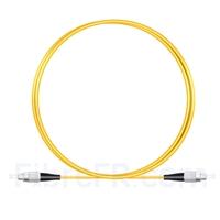 Image de 1M(3ft)1550nm FC UPC Simplex Axe Lent PVC-3.0mm Monomode (OFNR) 3,0 mm Polarisation Maintenant le Câble de Raccordement à Fibre Optique