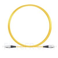 Image de 2M(7ft))1550nm FC UPC Simplex Axe Lent PVC-3.0mm Monomode (OFNR) 3,0 mm Polarisation Maintenant le Câble de Raccordement à Fibre Optique