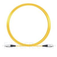 Image de 10M(33ft)1550nm FC UPC Simplex Axe Lent PVC-3.0mm Monomode (OFNR) 3,0 mm Polarisation Maintenant le Câble de Raccordement à Fibre Optique