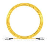 Image de 20M(66ft)1550nm FC UPC Simplex Axe Lent PVC-3.0mm Monomode (OFNR) 3,0 mm Polarisation Maintenant le Câble de Raccordement à Fibre Optique