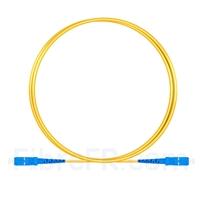 Image de 1M(3ft)1550nm SC UPC Simplex Axe Lent PVC-3.0mm Monomode (OFNR) 3,0 mm Polarisation Maintenant le Câble de Raccordement à Fibre Optique