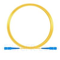 Image de 10M(33ft)1550nm SC UPC Simplex Axe Lent PVC-3.0mm Monomode (OFNR) 3,0 mm Polarisation Maintenant le Câble de Raccordement à Fibre Optique