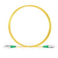 Image de 1M(3ft)1310nm FC APC Simplex Axe Lent PVC-3.0mm Monomode (OFNR) 3,0 mm Polarisation Maintenant le Câble de Raccordement à Fibre Optique