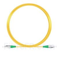 Image de 10M(33ft)1310nm FC APC Simplex Axe Lent PVC-3.0mm Monomode (OFNR) 3,0 mm Polarisation Maintenant le Câble de Raccordement à Fibre Optique