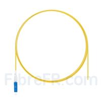 Image de 1m Pigtail à Fibre Optique LC UPC Simplex OS2 Monomode PVC (OFNR) 0,9mm