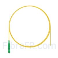Image de 1m Pigtail à Fibre Optique LC APC Simplex OS2 Monomode PVC (OFNR) 0,9mm