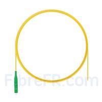 Image de 2m Pigtail à Fibre Optique LC APC Simplex OS2 Monomode PVC (OFNR) 0,9mm