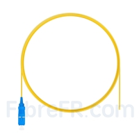 Image de 2m Pigtail à Fibre Optique SC UPC Simplex OS2 Monomode PVC (OFNR) 0,9mm