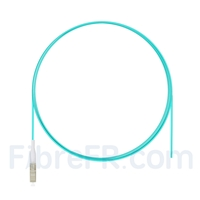 Image de 1m Pigtail à Fibre Optique LC UPC Simplex OM3 Multimode LSZH 0,9mm