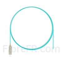 Image de 1m Pigtail à Fibre Optique SC UPC Simplex OM3 Multimode LSZH  0,9mm