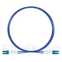 Image de 3m Câble Armé Acier LC UPC vers LC UPC Duplex OS2 Monomode PVC (OFNR) 3,0mm