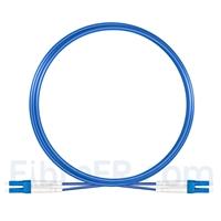 Image de 5m Câble Armé Acier LC UPC vers LC UPC Duplex OS2 Monomode PVC (OFNR) 3,0mm