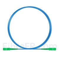 Image de 1m Câble Armé Acier SC APC vers SC APC Simplex OS2 Monomode PVC (OFNR) 3,0mm